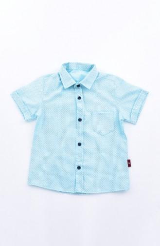 Kids Shirt 1815-03 Green 1815-03