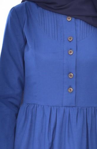 Ribbed Dress 7273-08 Indigo 7273-08