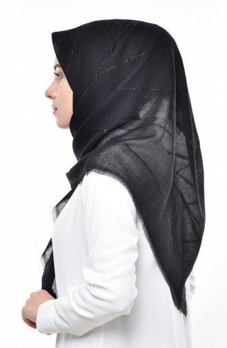Black Scarf 19038-01