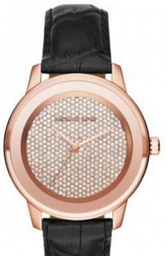 Schwarz Uhren 2456