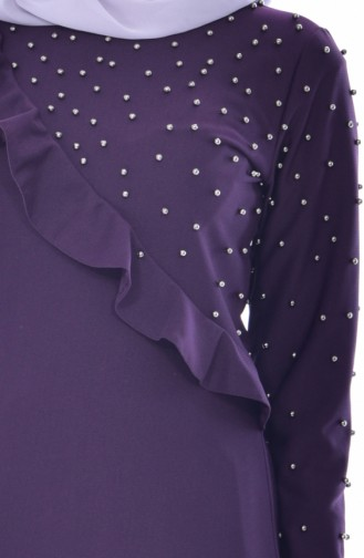 Purple İslamitische Jurk 4458-03