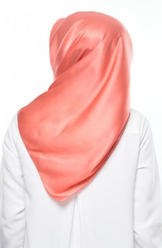 Pinkish Orange Scarf 12