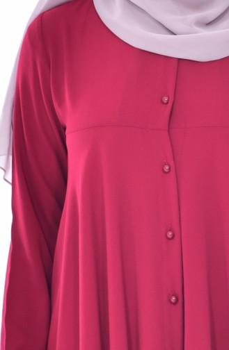 Shirt Collar Tunic 4900-04 Bordeaux 4900-04