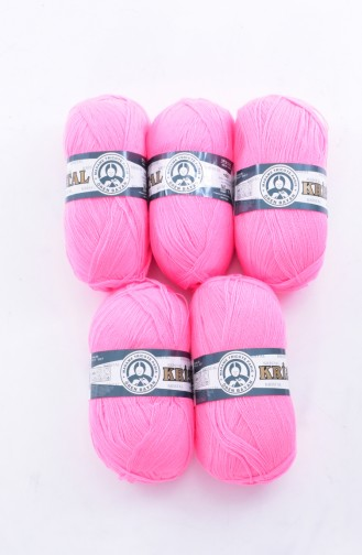 Textiles Women´s Crystal Yarn 269-040 Pink 269-040