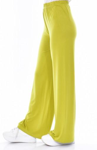Pantalon Taille élastique 1424-07 Vert Pistache 1424-07