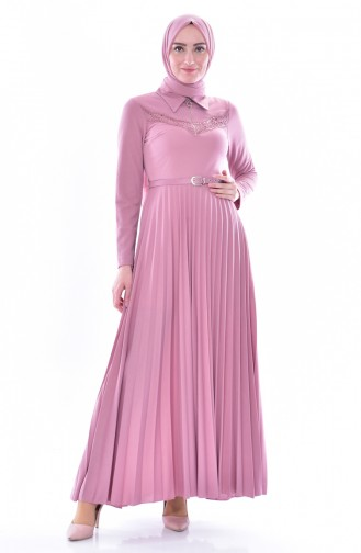 Dusty Rose İslamitische Jurk 0543-05