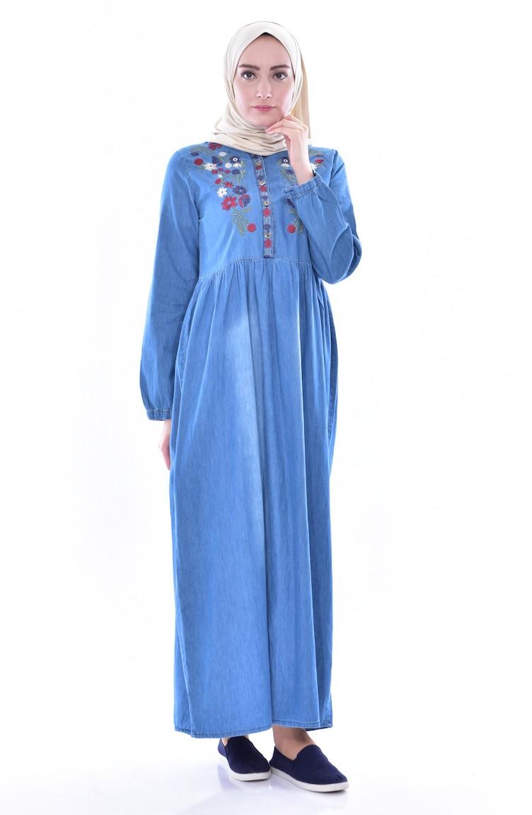 5c8f4802ad7 Jeans Blue Dress 3630-01