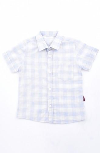 Kids Shirt 1813-02 Blue 1813-02