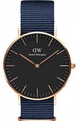 Dunkelblau Uhren 00100281