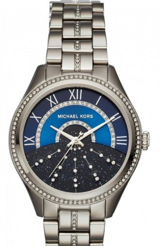 Silbergrau Uhren 3720