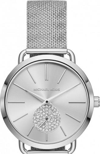 Silbergrau Uhren 3843