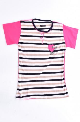 Ensemble Pyjama Pour Femme 0500-02 Fushia 0500-02