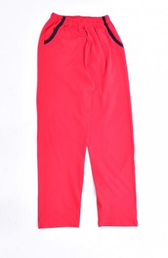 Women´s Pajamas Suit 0500-04 Red 0500-04
