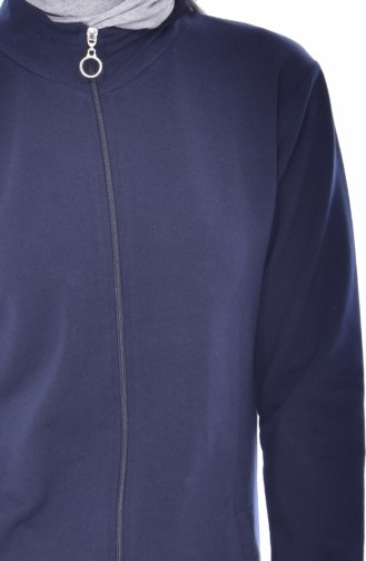 Navy Blue Mantel 18078-02