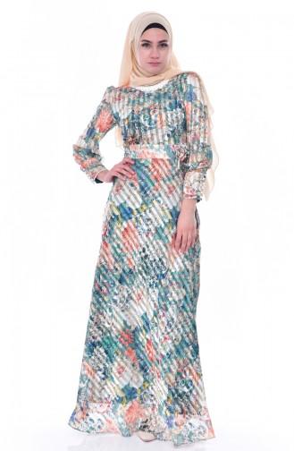فستان بتصميم مورّد 2319-03
