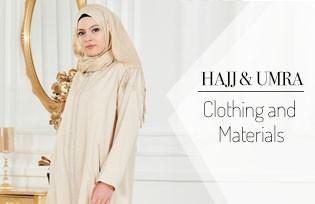 Hajj Umra Clothing and Materials