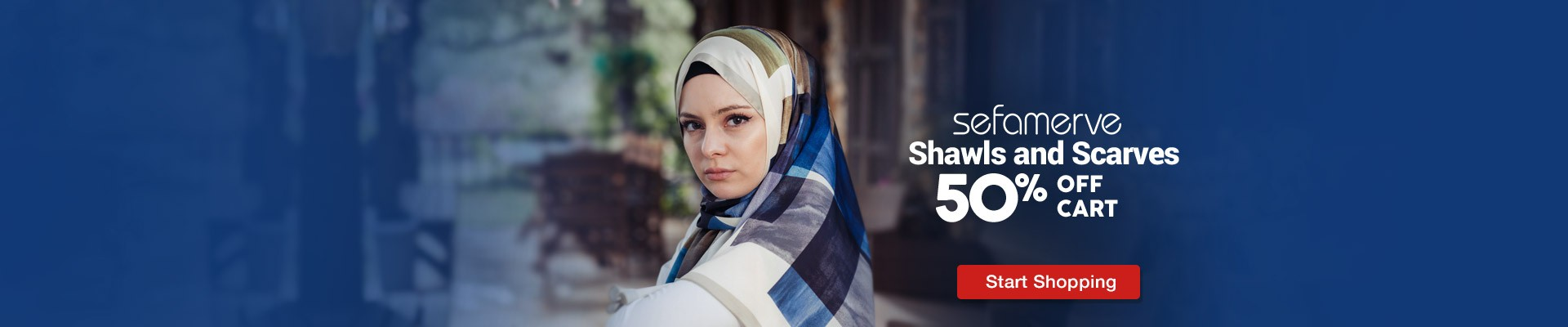 50% Off Cart on Shawls and Scarves