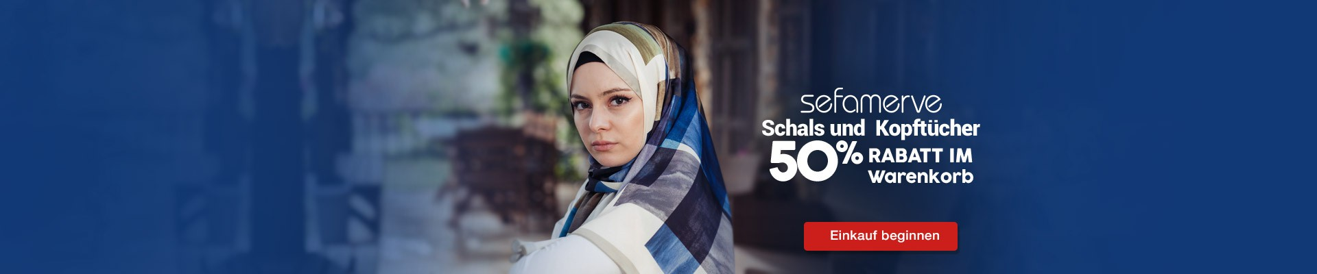 Auf Kopftücher und Schals 50% hälfte des Warenkorbes