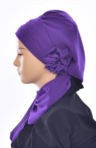 Purple Ready to wear Turban 0026-20