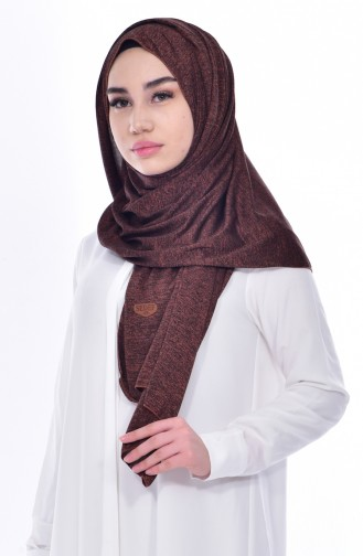 Tobacco Brown Shawl 124A