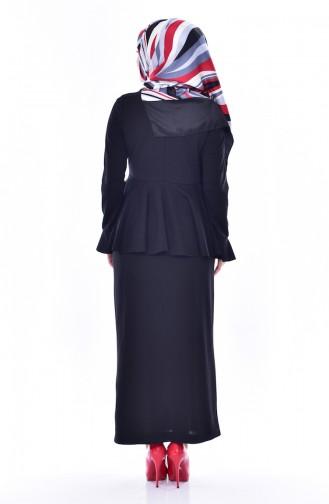 Bluz Etek İkili Takım 2075-04 Siyah 2075-04