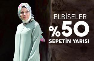 Elbise Modelleri %50 Sepetin Yarısı