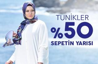 Tunik Modelleri %50 Sepetin Yarısı