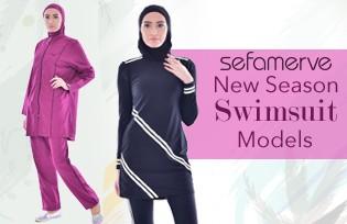 New Season Swimsuit Models