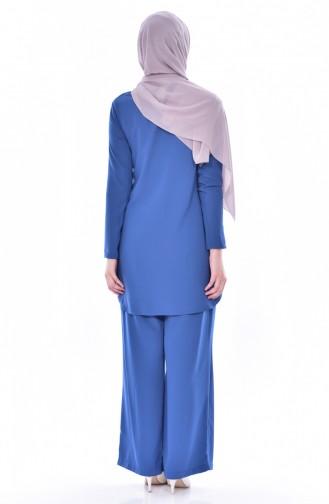 Indigo Suit 9108-05