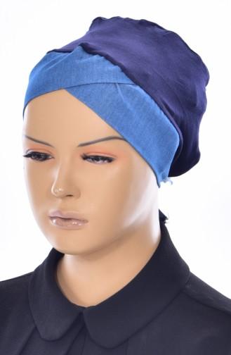 Bonnet Clasic -01 Bleu Marine Jean 01