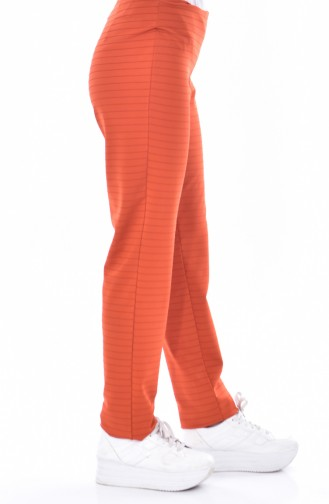 Tight-fitting Trousers 0185-08 Orange 0185-08