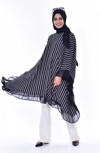 Black Poncho 1375-01