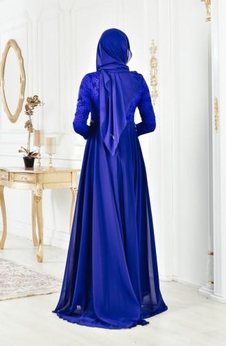 Pearls Evening Dress 8105A-01 Saks 8105A-01