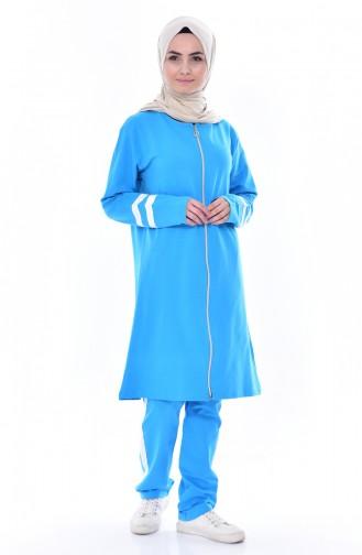 Turquoise Sweatsuit 18050-22