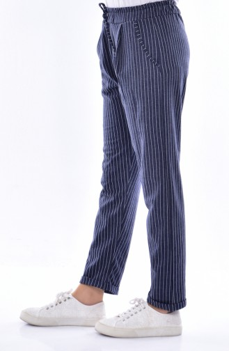 Light Navy Blue Pants 1335-05