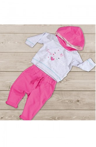 Pink Baby & Kid Suit 5081-01