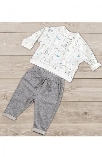 Ecru Baby & Kid Suit 5088-01