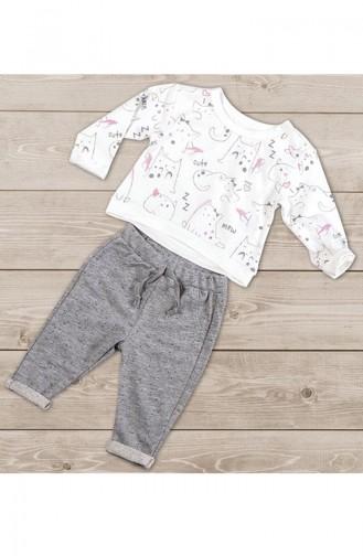 Ecru Baby & Kid Suit 5099-01