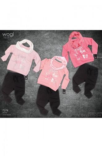 Wogi Fun 3er Set WG7278-02 Fuchsia 7278-02