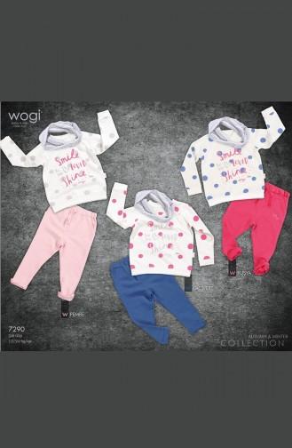 Ensemble Vêtements Bébé WG7290-03 Fushia 7290-03