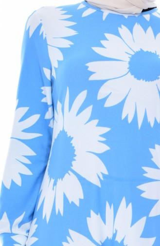 Blue Dress 4124A-07