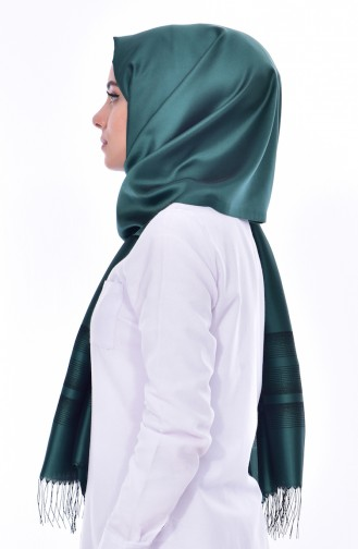 Smaragdgrün Schal 10