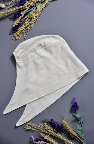 Sefamerve Bonnet Couleurs 100% Naturelle XL 203-01 Ecru 203-01