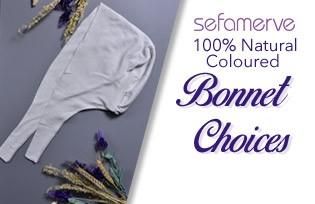 100% Natural Coloured Bonnet Choices