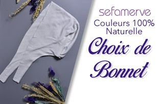 Couleurs 100% Naturelle Choix de Bonnet