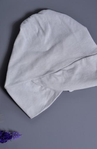 Sefamerve %100 Doğal Boyalı Çapraz Bant Bone 201-03 Gri 201-03