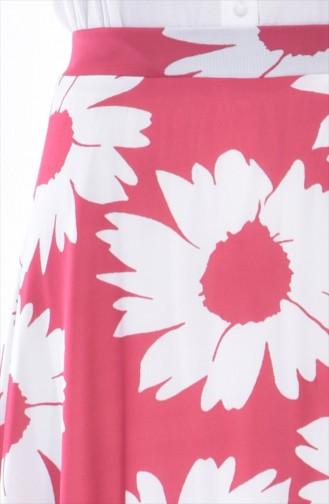 Printed Skirt 8867-02 Powder 8867-02