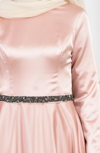 Habillé Hijab Poudre 1007A-02