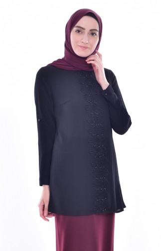 Black Blouse 4066-04
