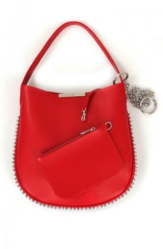 لورا أشلي حقيبة  651LAS0977-01 لون أحمر 651LAS0977